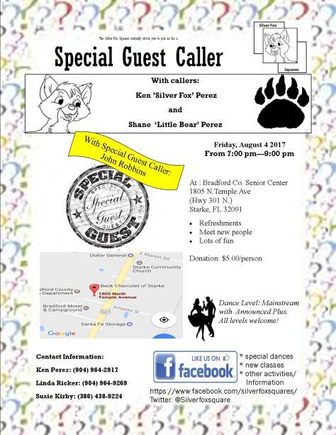 Special Guest Caller