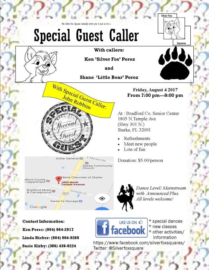 Special Guest Caller!