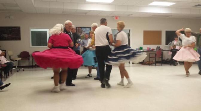 Sock Hop Dangle Dance