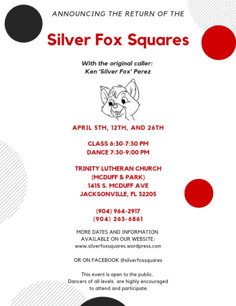 Silver Fox Squares Return